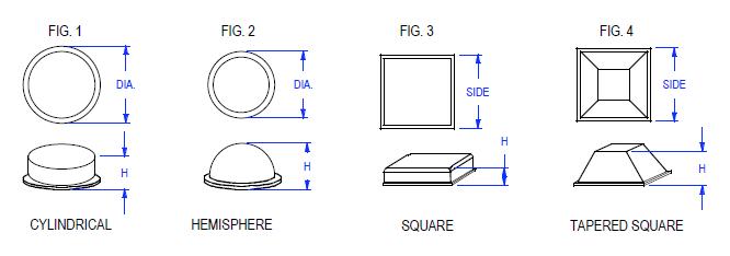 diagramatic-representation-urethane-bumpers-fig-1-4